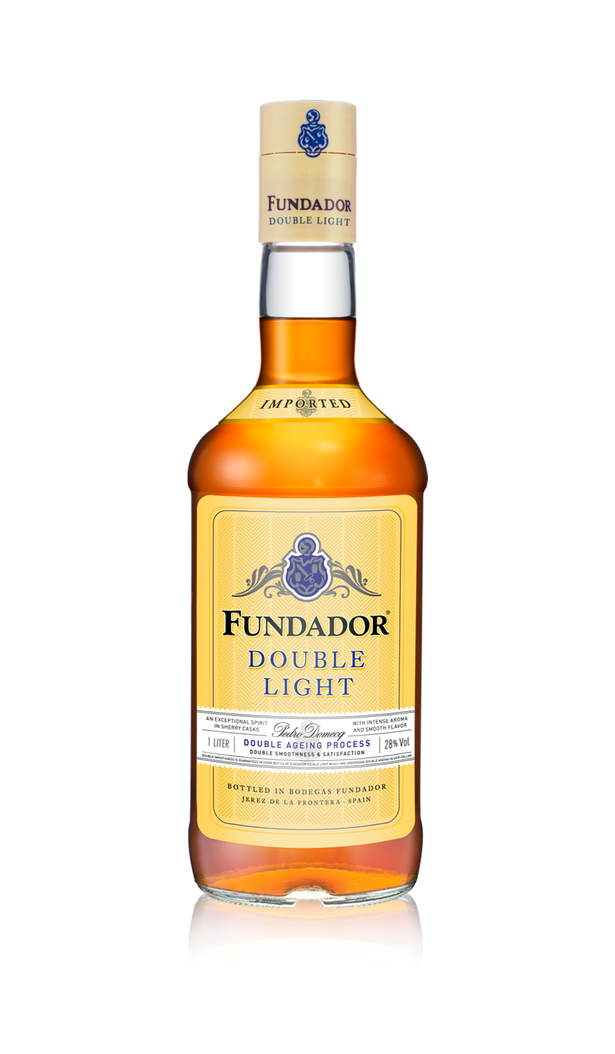Botella Fundador Double Light