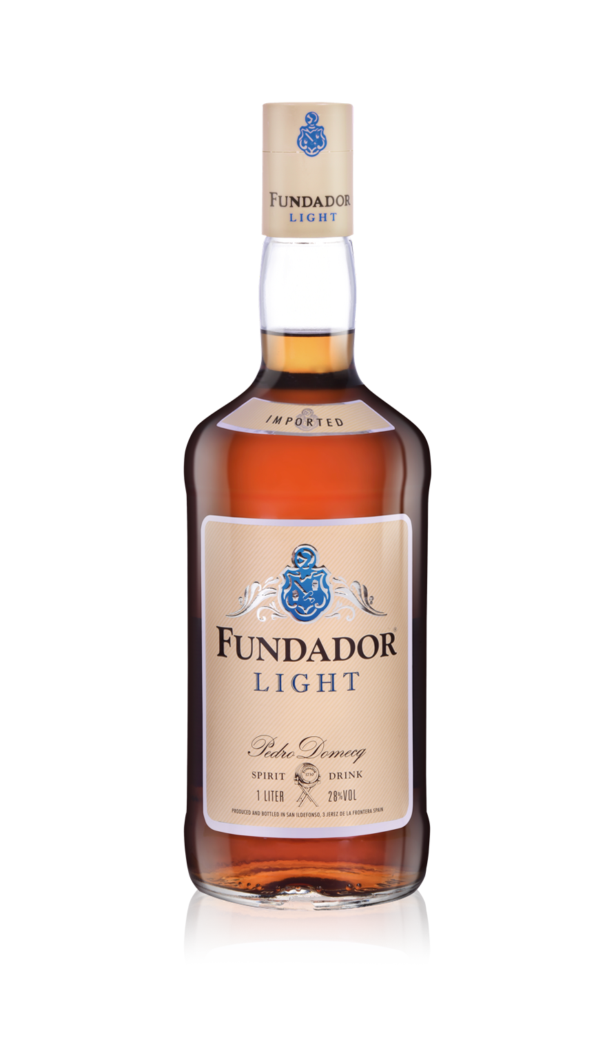 Botella Fundador Light