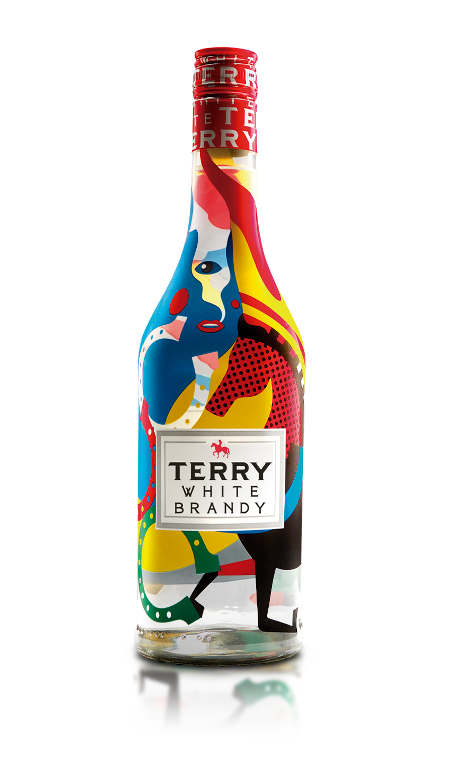 Botella Terry White Brandy